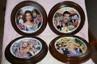 Lot of 4 1993 &1994 Young and the Restless Plates Crestley Collection With Frame