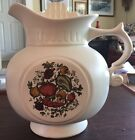 McCoy Vintage Cookie Jar White Spice Delight of Life Pitcher vegetables 9