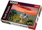 Trefl Neuschwanstein Castle Jigsaw Puzzle (2000 Piece) New