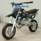 49cc 2 Stroke GAS Motor Mini Pocket Dirt Bike for KIDS Free S H BLACK I DB49A