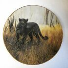 Collector Plate Charles Frace  POWERFUL PRESENCE  1991 WS George Black Leopard