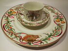 Royal Gallery QUEENSBERRY Fine China, 3 pc Set, New In Box Cup Saucer Plate