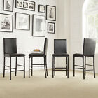 Dining Chair Set Kitchen Modern Counter Height Seat Bar Furniture Stools End NEW