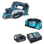 MAKITA 18V LXT DKP180 DKP180Z PLANER AND 1 x BL1840, 1 x DC18RC, 1 x LXT600 BAG