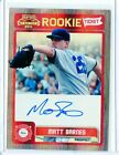 2011 CONTENDERS #RT4 MATT BARNES AUTOGRAPH ROOKIE RC - BOSTON RED SOX 090515