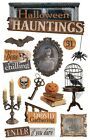 Scrapbooking Stickers 3D Paper House Halloween Hauntings Skeleton Picture Raven