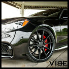 20 ROHANA RFX1 BLACK CONCAVE WHEELS RIMS FITS LEXUS SC430
