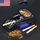 Blue Black automatic electric cigarette rolling maker injector machine Best Gift