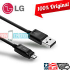 OEM Original LG 1.8A Micro USB Data Sync Charger Cable for G2 G3 G4 Flex Nexus 5