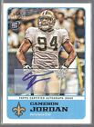 CAMERON JORDAN 2011 Topps Magic ROOKIE Autograph AUTO RC New Orleans SAINTS!