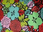 Snuggle Flannel Big Bright Flower Blooms Apparel Quilting Gen BTY New