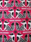 Snuggle Flannel Flowery Foxes on Bright Pink Apparel Quilting Gen BTY New
