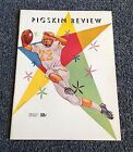 USC Notre Dame 1958 FOOTBALL Program PIGSKIN REVIEW Bronko Nagurski Don Buford