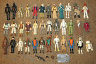 VINTAGE 70'S 80'S KENNER LFL STAR WARS ACTION FIGURE LOT OF 36 W/ WEAPONS RARE!