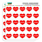 1 Scrapbooking Crafting Stickers I Love Heart Places Things S