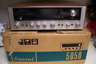 Vintage 1970s Sansui Stereo Receiver in the Box 5050 Tested Excellent