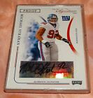 MICHAEL STRAHAN NEW YORK GIANTS 2004 PLAYOFF PRIME SIGNATURES AUTOGRAPH 20 92