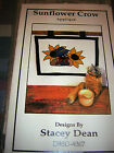 Sunflower Crow Appique Wall Hanging Quilt Pattern