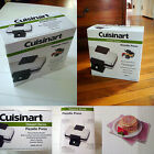New CUISINART Pizzelle Press Model WM - PZ2 Cookie NON STICK Cones Cannoli NIB