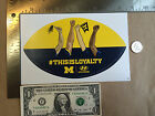 Michigan Wolverines College Football Sticker Decal NCAA Hyundai Free Shipping
