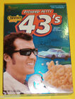 2003 NASCAR Richard Petty Tribute Pic General Mills Cheerios 43s Cereal Full Box