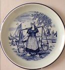 WHITE DELFT PLATE MADE FOR ROYAL SPHINX HOLLAND BY BOCH BELGIUM