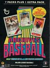 2013 Topps Archives Baseball Factory Sealed 16 Box CASE-3 AUTOGRAPH RELIC!