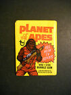 1975 PLANET OF THE APES UNOPENED CARD WAX PACK TOPPS