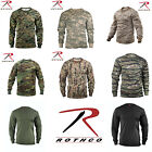 Rothco Military Tactical Hunting Long Sleeve Camo T Shirts Tagless Label