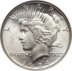 1922 1926 PEACE SILVER DOLLAR BRILLIANT UNCIRCULATED 90 COIN AMAZING