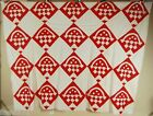 White Baskets Quilt Top ~GREAT DESIGN!