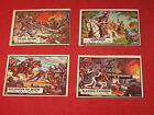 Vintage Civil War News Trading Cards TOPPS Lot. 13,26,63,76 Very Good Condition