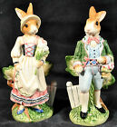 FITZ & FLOYD MIB Old World Rabbits salt and pepper shakers. GORGEOUS