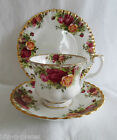 ROYAL ALBERT OLD COUNTRY ROSES Cup Saucer Tea Plate TRIO