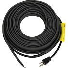 King 18 Foot Water Pipe Freeze Protection Heating Cable Heat Tape Kit