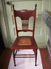 1800s CHAIR bedroom office dining AUTHENTIC ANTIQUE caned seat ORLANDO PICKUP