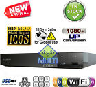 USED Sony BDP-S3500 Multi Region Code Free DVD Blu-Ray Disc Player - WiFi, USB