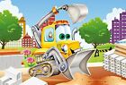 Funny Vehicles Two 48-Piece Childrens Jigsaw Puzzle
