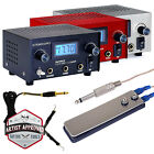 Tattoo Digital LCD Dual Power Supply Foot Pedal Switch and Clip Cord