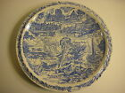 Vernon Kilns City of Asheville Souvenir Plate, 10 1/4