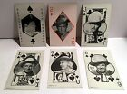 Cowboy/Cowgirl Western TV Movie Star Exhibit Playing Cards ~ Lot of Six ~ 1950s