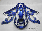 Injection Mold White Blue Fairing Fit for 1997-2007 Yamaha YZF600R Body Kit a17