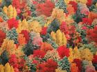 Fall Trees-All Over Design-Gr8 Fall Colors by Elizabeth Studios - BTY