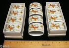 12 BUTTERFLY NAPKIN RINGS ECSTASY PATTERN BY THE SHAFFORD COMPANY