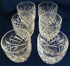 6 Waterford Crystal AVOCA / DONEGAL 10 oz Tumblers OLD FASHION