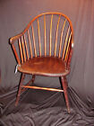 Antique American Continuous Arm Windsor Chair Circa 1770