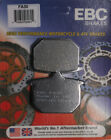 EBC BRAKE PADS Fits: Honda GL1100 Gold Wing,GL1100I Gold Wing Interstate,CB750F,