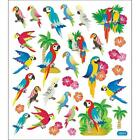 Scrapbooking Crafts Stickers Sticker King Parrots Muti Colors Trees Sand Repeats