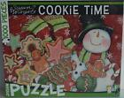 Go Games ~ Cookie Time by Susan Winget ~ 1000 Piece Puzzle Sealed New Snowman