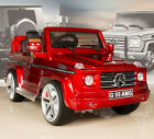 RED Mercedes G55 AMG 12V Kids Ride On Car Battery Power Wheels w RC